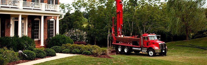 Truck and Well Drilling Equipment