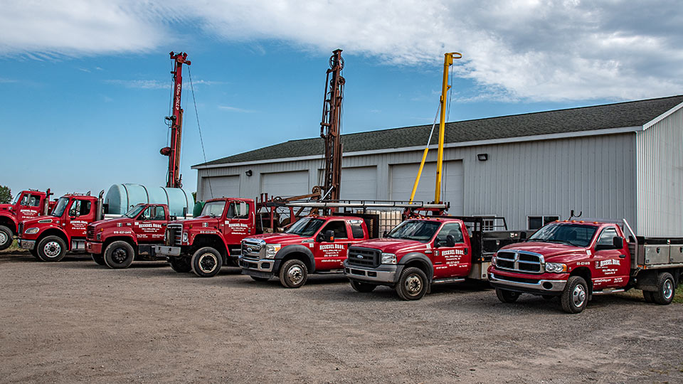 Hecksel Brothers Well Drilling Equipment
