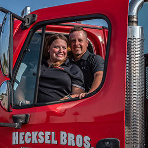 Hecksels at Truck Door